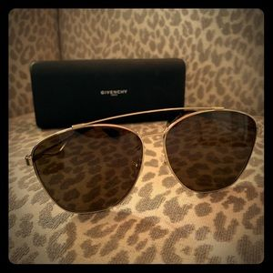 Authentic Givenchy Oversized Aviator Sunglasses